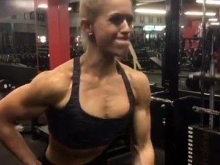 Ripped Girl Chest