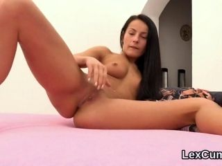 Exceptional Czech Stunner Lexi Dona Rubs And Comes