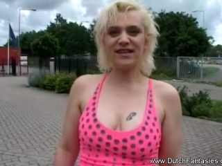 Outrageous Dutch BlondeMILF  Fucked In Holland (3)