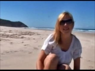 British Backpackers goes Nude at Byron Bay South Nudist Beach
