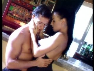 Laura Angel blows and gets her coochie pounded from behind