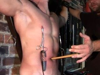 Navel And Nipple Torture