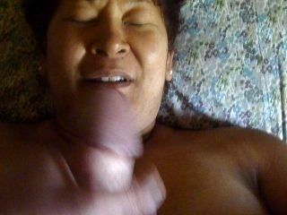 Malay Wife Facial (@2:00)