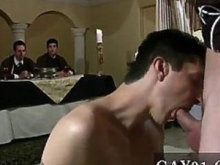Gay Sex Muff Meat Was Chosen From The Three To Suck