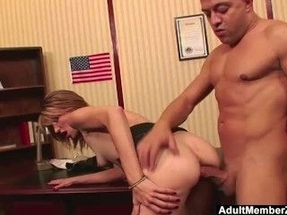 AdultMemberZone - Huge dick makes her scream with pleasure and pain (3)
