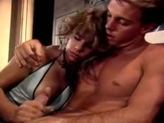 Vintage porn model Veronica Hall gets intimate with 80s porn male model (2)