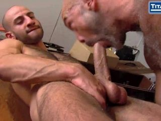 Tristan Sprays His Hot Load On Eric