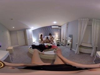 VR Porn Girls only orgy in POV  Virtual Porn 360 (2)