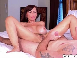 Catalina Cruz Busty Milf fucked and creampied in bedroom
