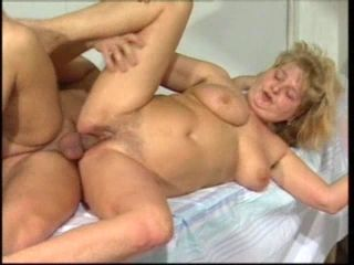 Nasty Blonde Granny Nailed Hardcore In Her Bedroom (2)