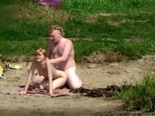 Naked Blonde Was Enjoying A Swim