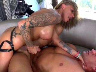Femdom Fetish Babe Pegging Guy With A Strap On Dildo