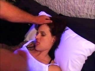 Long Tongue Wife Deepthroat Cumshot WivesOnWebcam.com