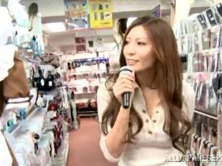 A Wanna Be Asian Pop Star Gets Fucked While Singing In Public (2)