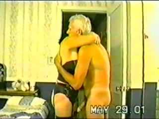 Older Mature Couple Having a Great Sex Kink Session