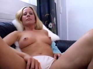 Solo clip with awesome hot blonde Ann