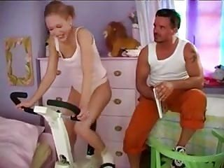 STP5 Daddy Changes Her Exercise Routine !