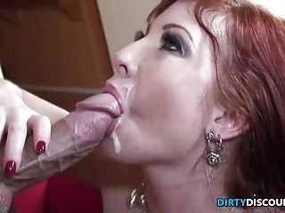 Busty Housewife Facialized By The New Tutor