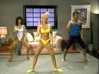 Warm Up With Traci Lords - Classic Exercise Video SFW Funny 80's Aerobics