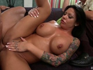 Big Tit Doll Lets Her Cuckold Guy Watch As She Fucks Another Man (2)