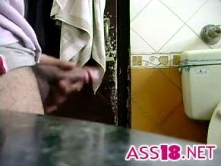 Indian Maid Watches Him Jack Off (2)