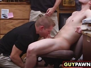 Straight Guy Fresh From The Military Gets Fucked For Cash (5)