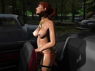 DLP - Surprise at the Car Park (Second Life)