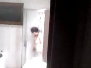 Chinese Mature In Shower