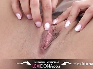 LexiDona - Sultry Lexi Dona fingers her sweet puffy pussy (3)