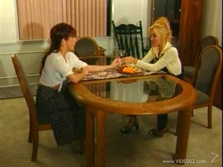 Jill Kelly and her GF make out and eat each other's lesbian holes