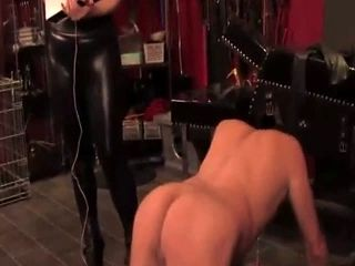 English Femdom Punishes Sub With Electroplay (6)