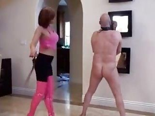 Slave  Gets  Whipped