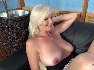 FakeShooting - Mom with Big natural tits wrecked hard on fake casting