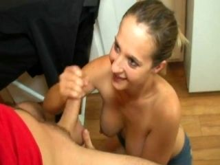 Dude Wants To Cum On Her Breast