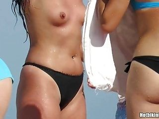 Topless Amateur Beach Girls Tanning naked Voyeur HD SPy Vid