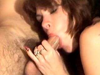 Foursome on the stairs with voluptuous brunette Kay Parker