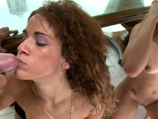 Lusty Miss Raquel and Nena Linda are in mood for facial