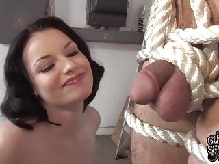 Tied Husband Watch His Wife Fucking Blacks