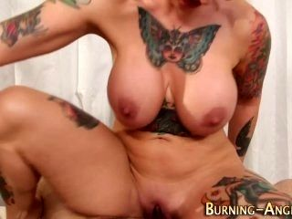 Tattooed Pinup Gets Anal (2)