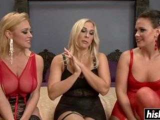 Three Hot Babes Experiment With Toys (2)