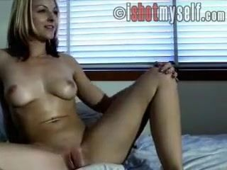 Exotic Homemade record with Selfshot, Blonde scenes