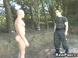 Gay Guys Out Hunting Take A Break So They Can Fuck In The Forest