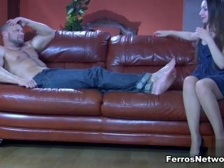 NylonFeetVideos Video: Crystal and Claud (2)