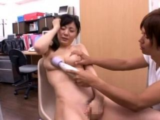 Nice ass Asian worked on hardcore doggystyle in the office
