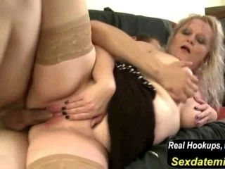Taboo Home Story with Mature Mom and Young Boy (2)