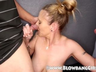 Big Tit Blonde MILF Grosses Out With Cum All Over Her Face (6)