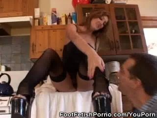 Foot Fetish In The Kitchen (2)