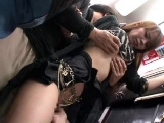 Perverted public sex with adorable Japanese girl