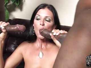 Perfect slut wife suck and fuck BBCs