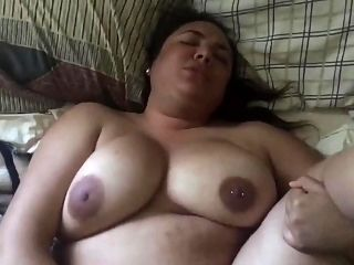 Teen BBW fucks her sis boyfriend on valentines